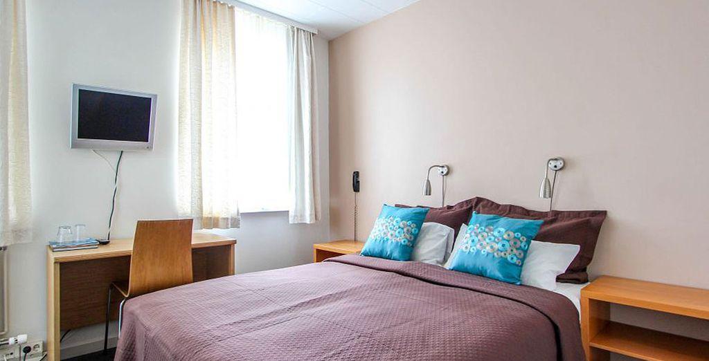 Séjournez dans une chambre Standard à l'hôtel Leifur Eiriksson