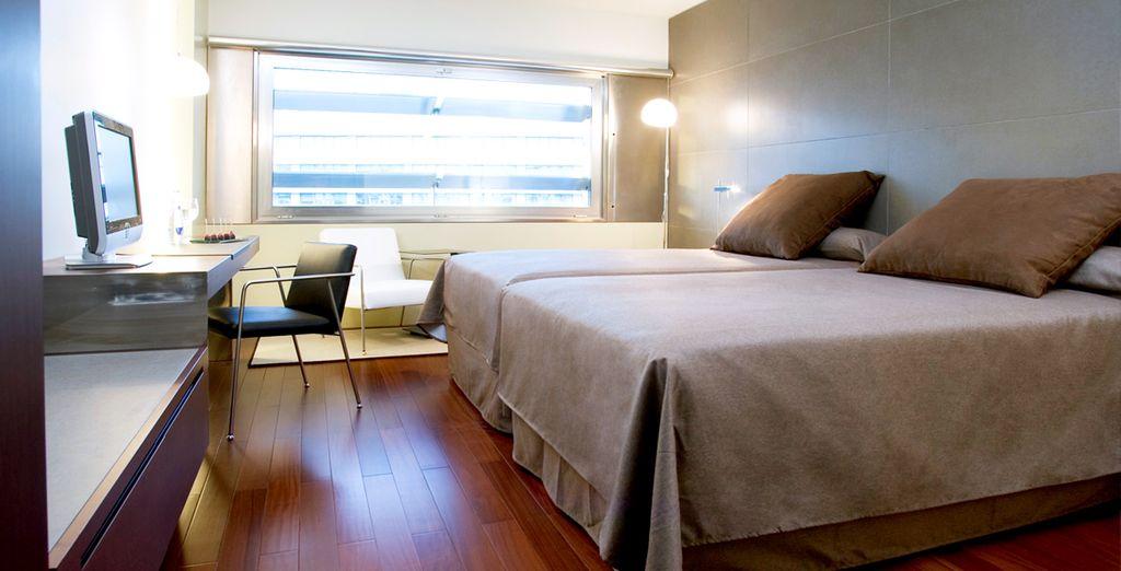 Découvrez votre chambre, élégante et cosy