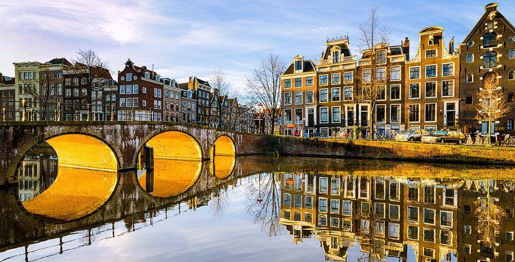 Bienvenue sur les canaux d'Amsterdam - Hôtel Roemer 4* Amsterdam