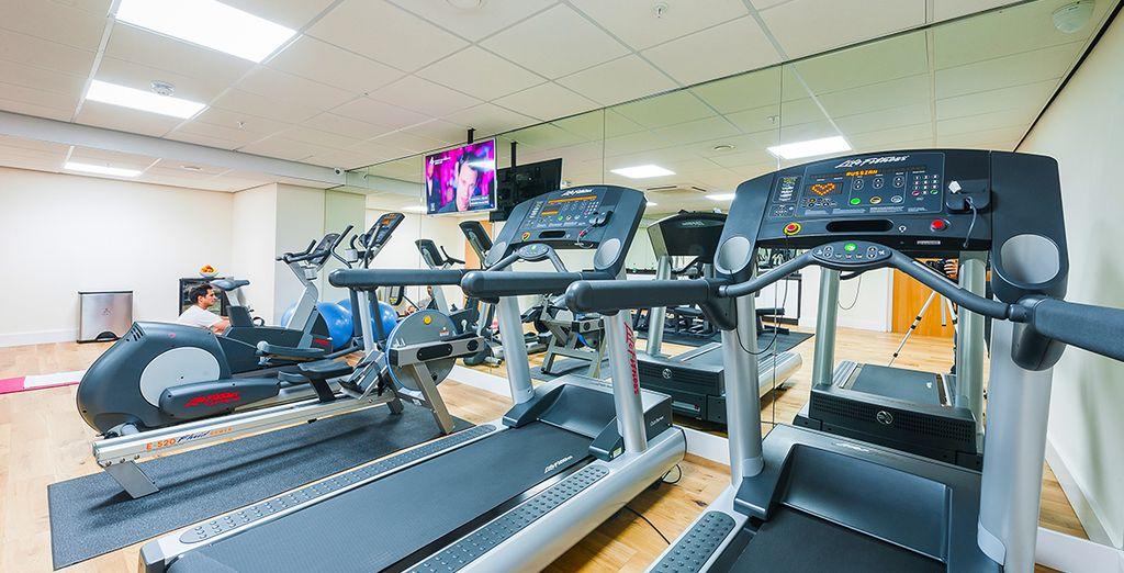 La salle de sport vous attend pour quelques exercices