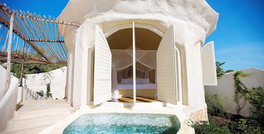 Découvrez votre Suite Pavillon de Luxe