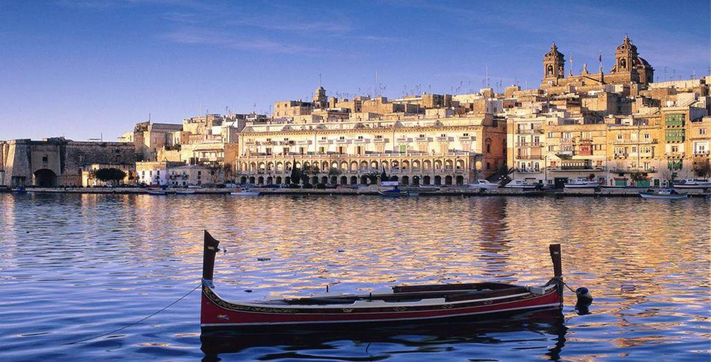 Sur l'île de Malte ! - Hôtel Corinthia Marina Beach Resort 4* St Julians