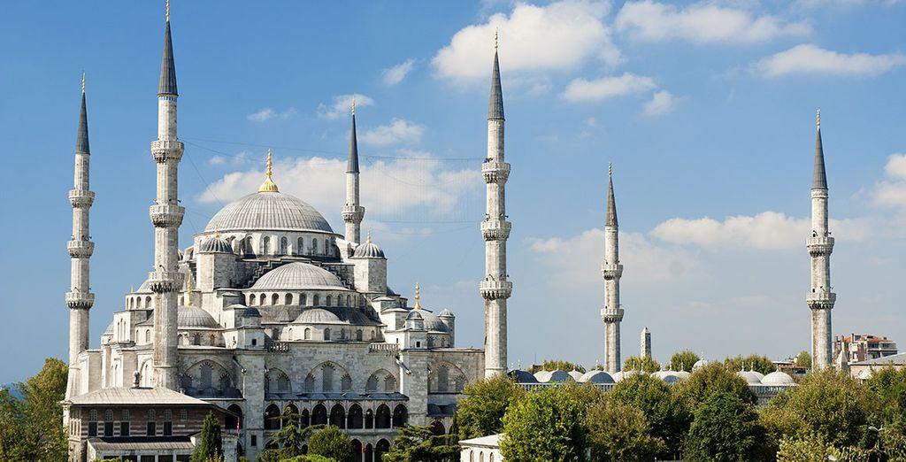 La mosquée Sainte-Sophie...