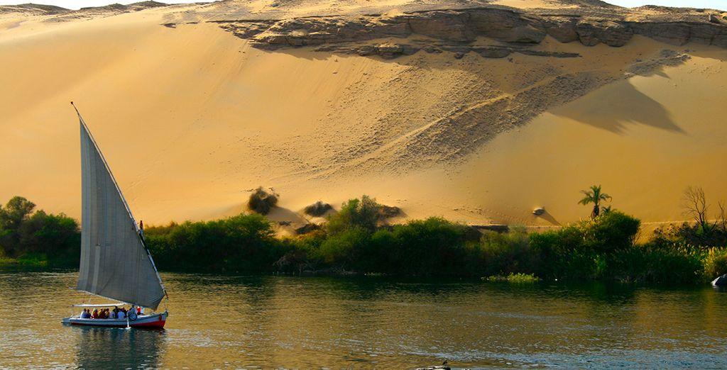 Laissez-vous tenter par le combiné croisière sur le Nil & séjour au Club Paradisio...