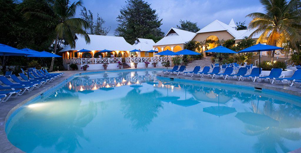 Un petit paradis sur l'île de Sainte-Lucie - Hôtel Smugglers Cove 4* Cap Estate