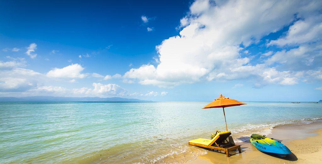 Face aux eaux cristallines de Koh Pha-Ngan