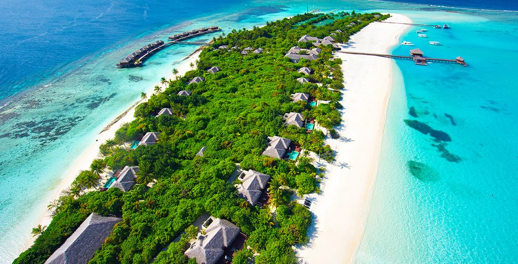 Venez vous reposer au Zitahli - Zitahli Resort & Spa Kuda-Funafaru 5* Malé