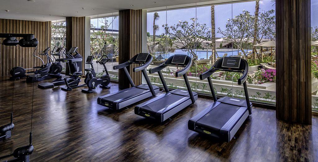 Gardez la forme au centre de fitness...