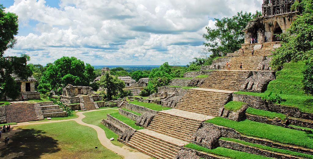 Le circuit prévoit la visite de sites historiques d'exception comme à Palanque...