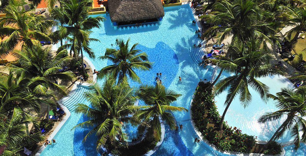 Direction l'hôtel Mélia Habana 5*