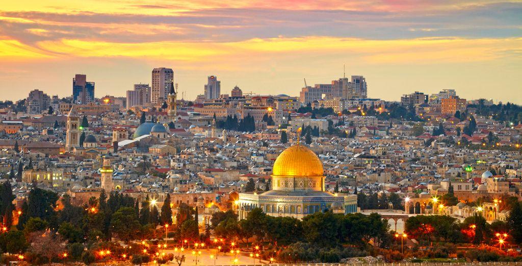 Commencez votre circuit à Jérusalem
