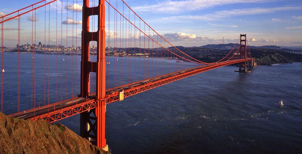 San Francisco sera votre hôte durant 2 jours...