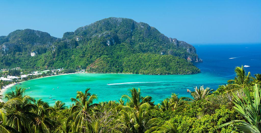 Et la beauté des paysages des environs de Phuket