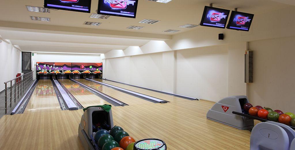 ...A son bowling