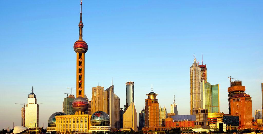 Visitez Shanghaï, de jour...