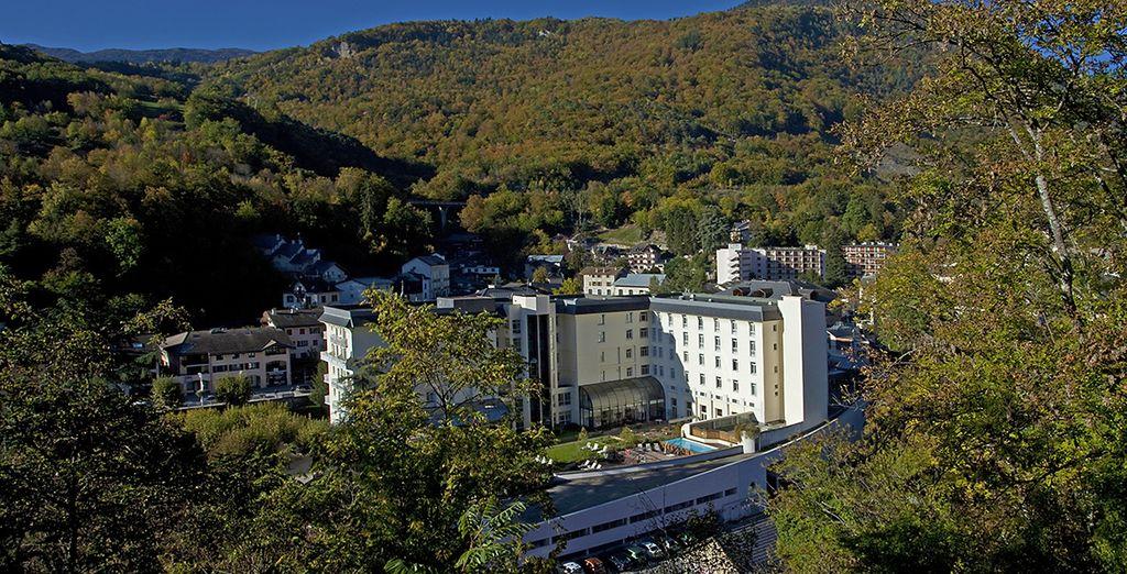 Rejoignez le Grand Hôtel des Thermes
