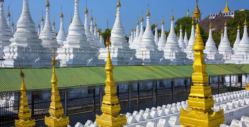 Démarrez en beauté votre séjour à Mandalay...