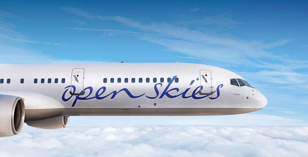 Offrez-vous un vol direct avec la compagnie OpenSkies