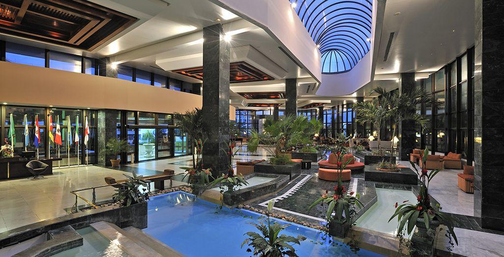 Vous séjournerez à l'hôtel Melia Habana 5*