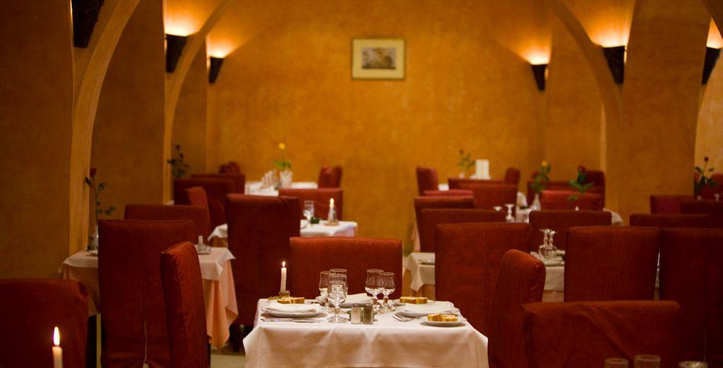 Pour ensuite savourer un dîner romantique