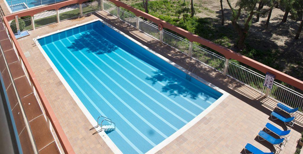 Avant de prendre la direction de la piscine...