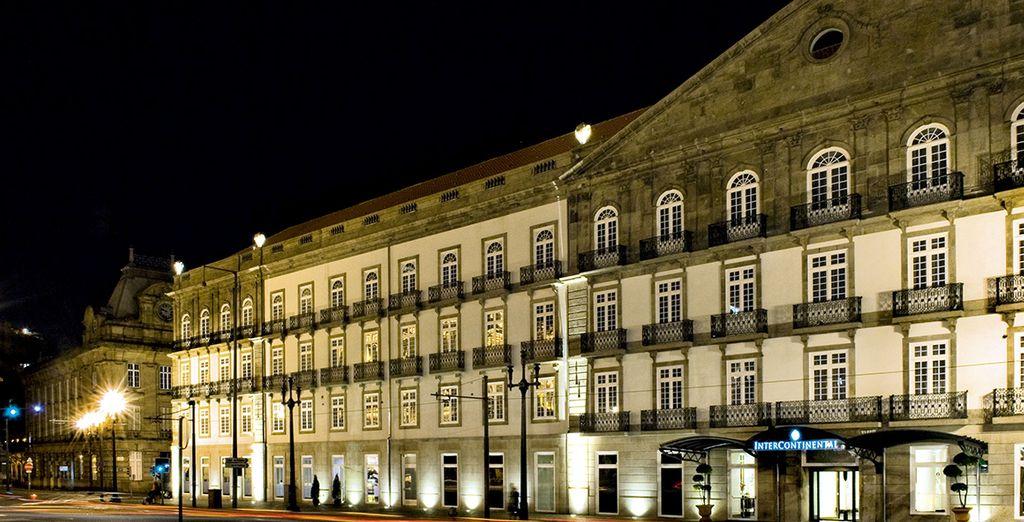 L'Intercontinental Porto vous accueille...