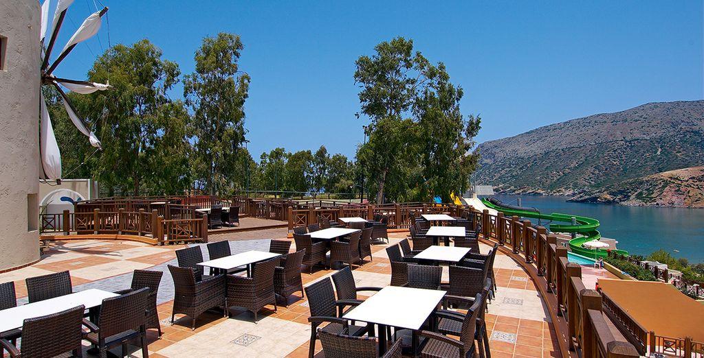 Sur la terrasse pour vivre pleinement de belles journées ensoleillées !
