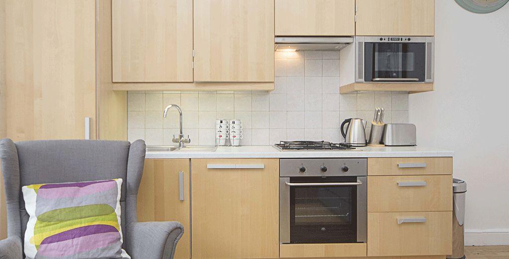 Votre cuisine tout équipée