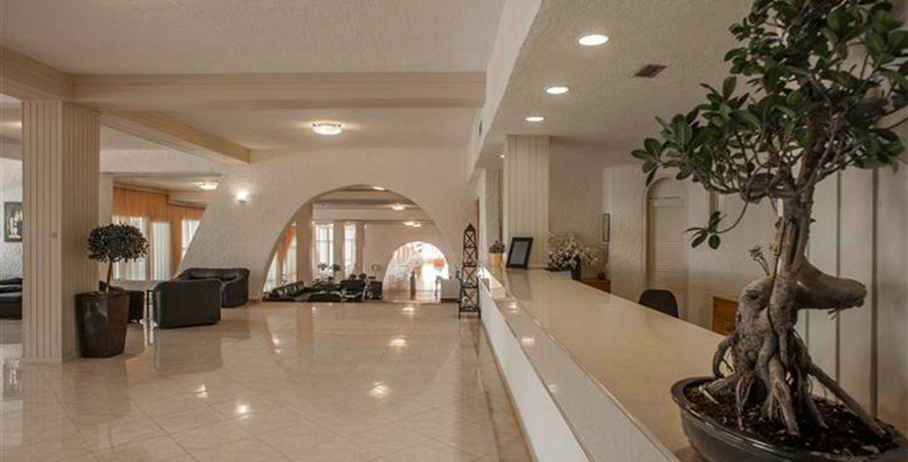 Un hôtel convivial situé à moins de 50km d'Athènes