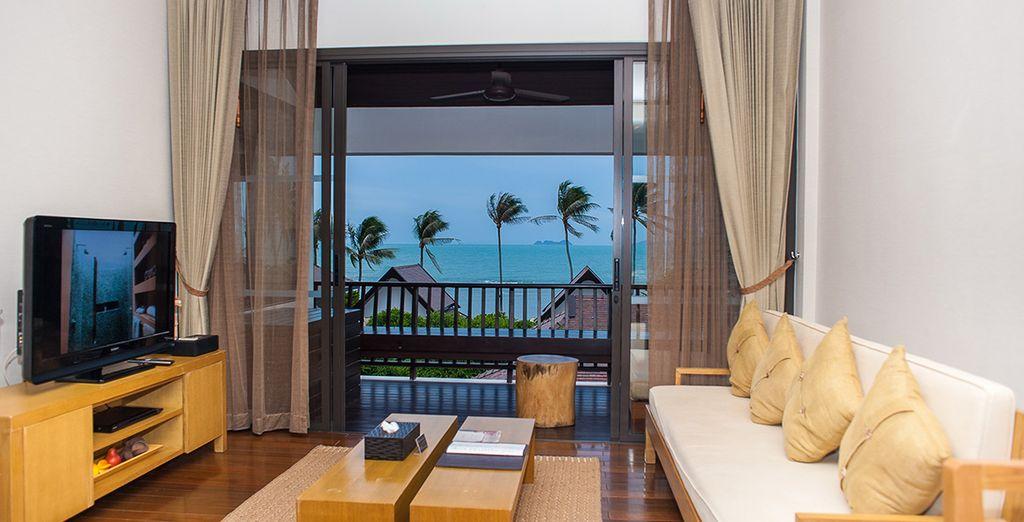 Et poserez vos valises en suite One Bedroom Ocean View