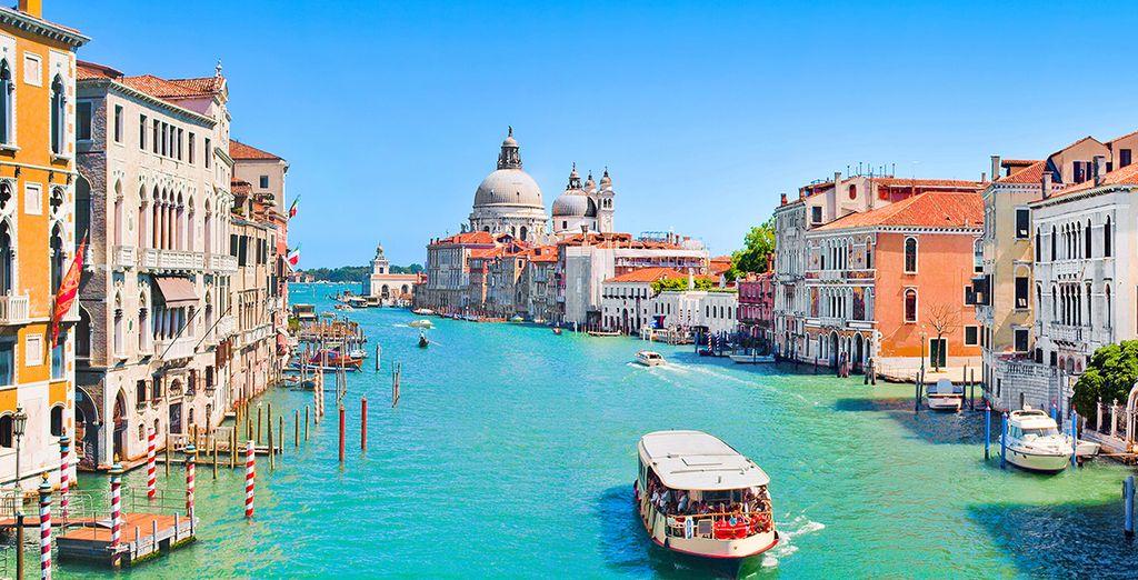 Photographie de Venise et de ses canaux