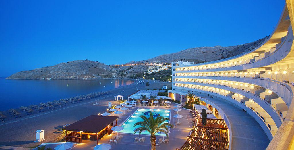Vous poserez vos valises à l'hôtel Sentido Lindos Bay