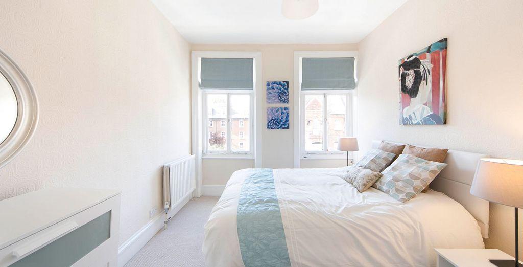 Appartement 4 : La première chambre