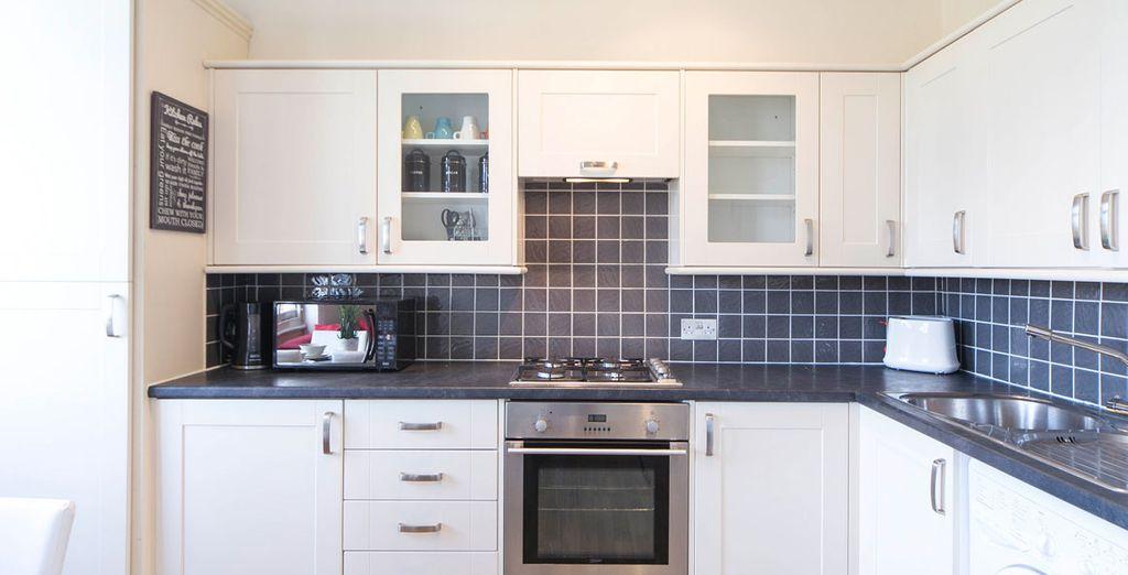 Appartement 4 : La cuisine équipée