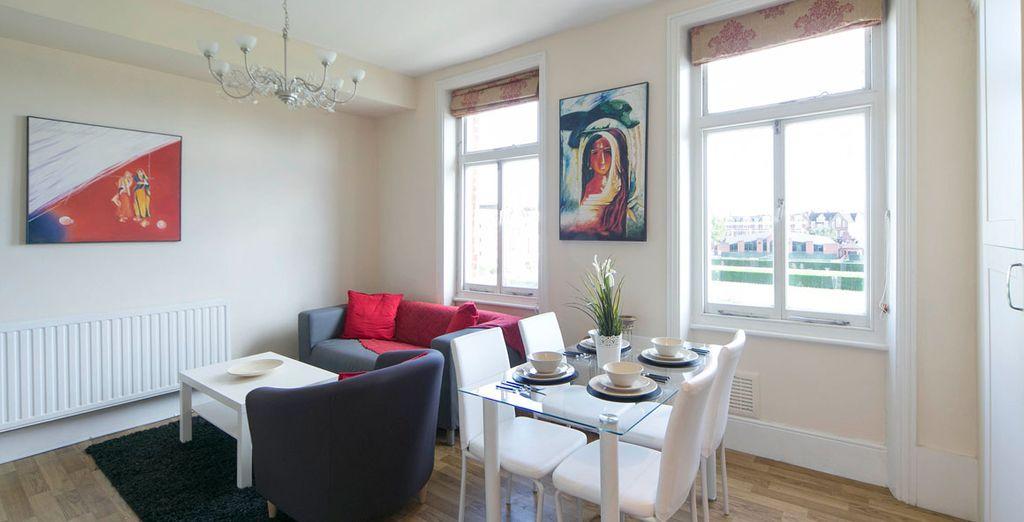 Appartement 4 : Le salon