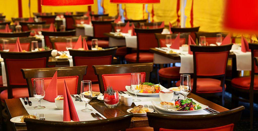 Avant de rejoindre l'excellente table du Sunlight Restaurant