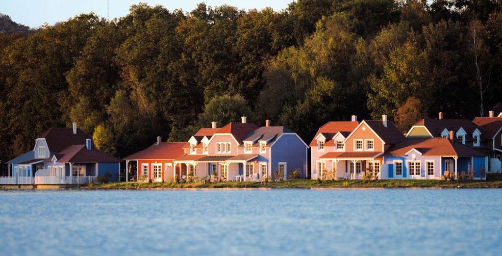 Rendez-vous au Lac d'Ailette, l'endroit parfait pour des vacances en famille - Center Parcs Domaine du Lac d'Ailette Chamouille