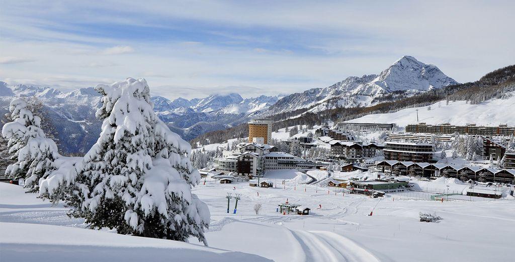 Bienvenue dans les Alpes italiennes...