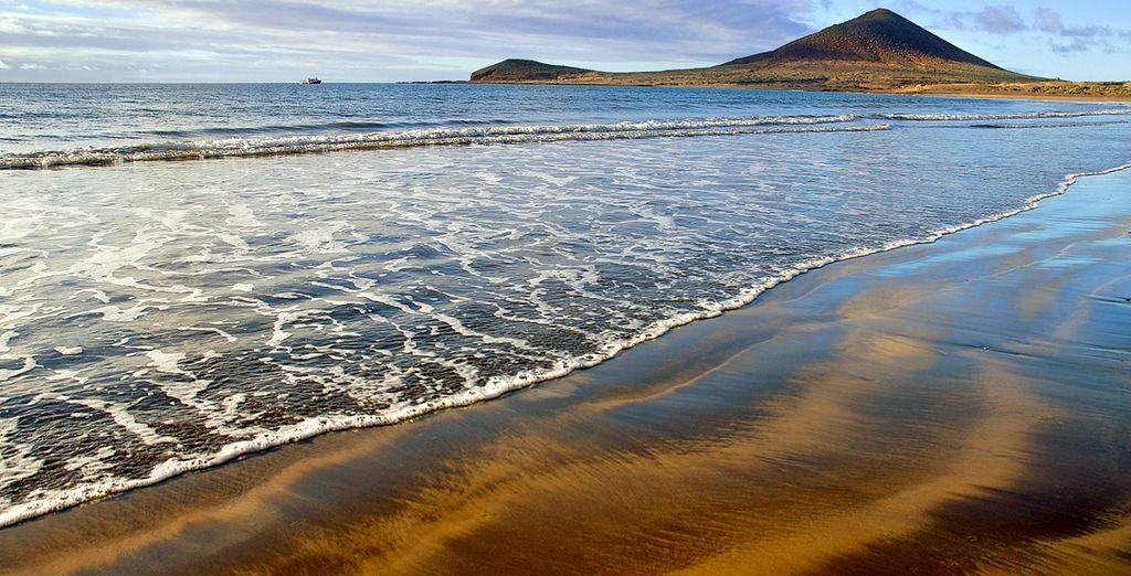 Au bord de la plage de la Jaquinta...