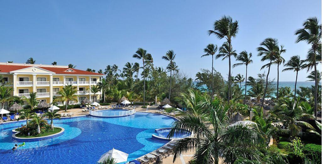 Testez les installations et services de tous les hôtels du complexe Gran Bahia