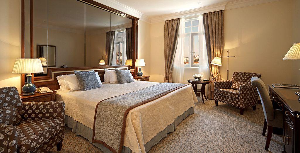 Profitez du confort de votre chambre Supérieure