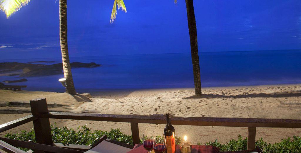 Le soir, craquez pour un dîner en bord de mer