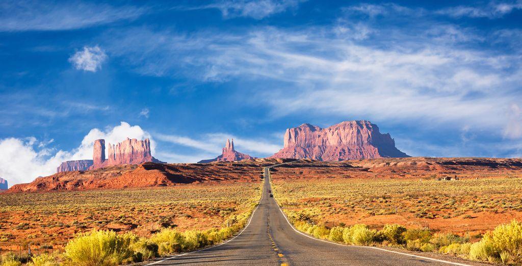 Partez sillonner les routes du Far West et prenez-en plein les yeux