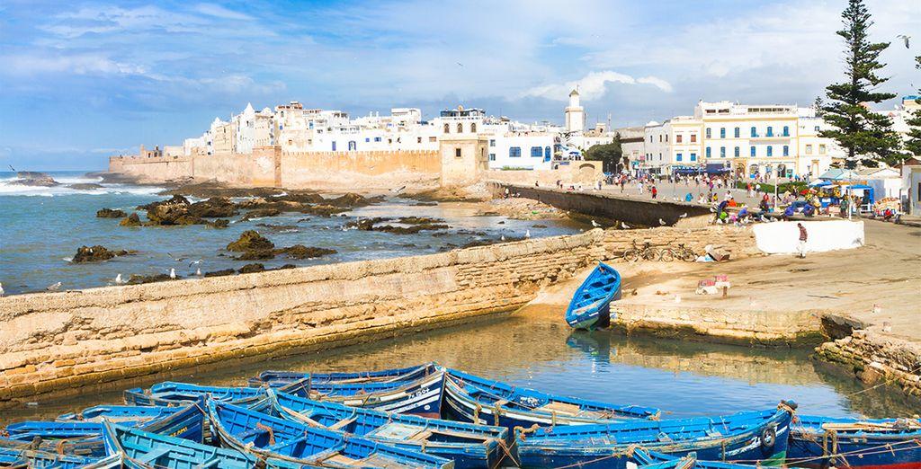 A Essaouira...