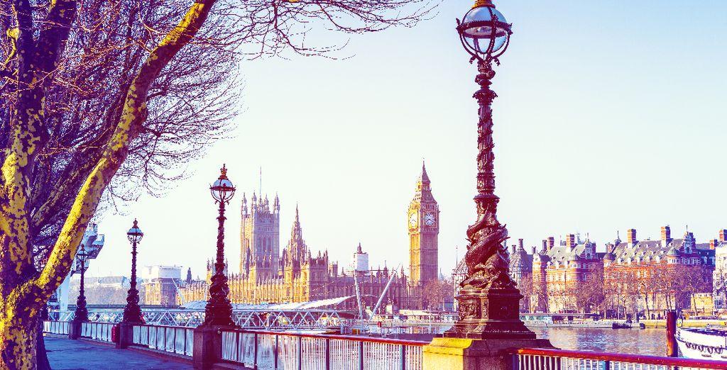 Suivez-nous à la découverte de Londres
