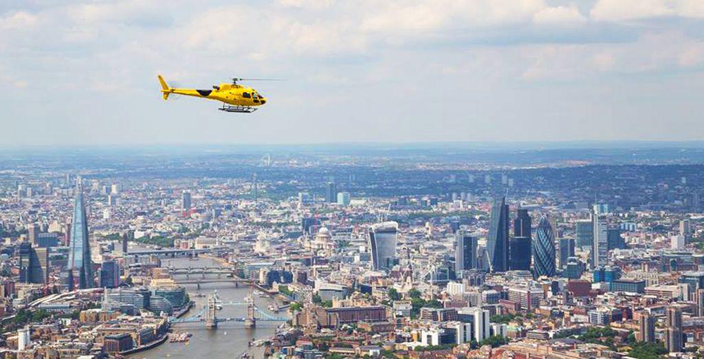 Craquez pour un vol en hélicoptère