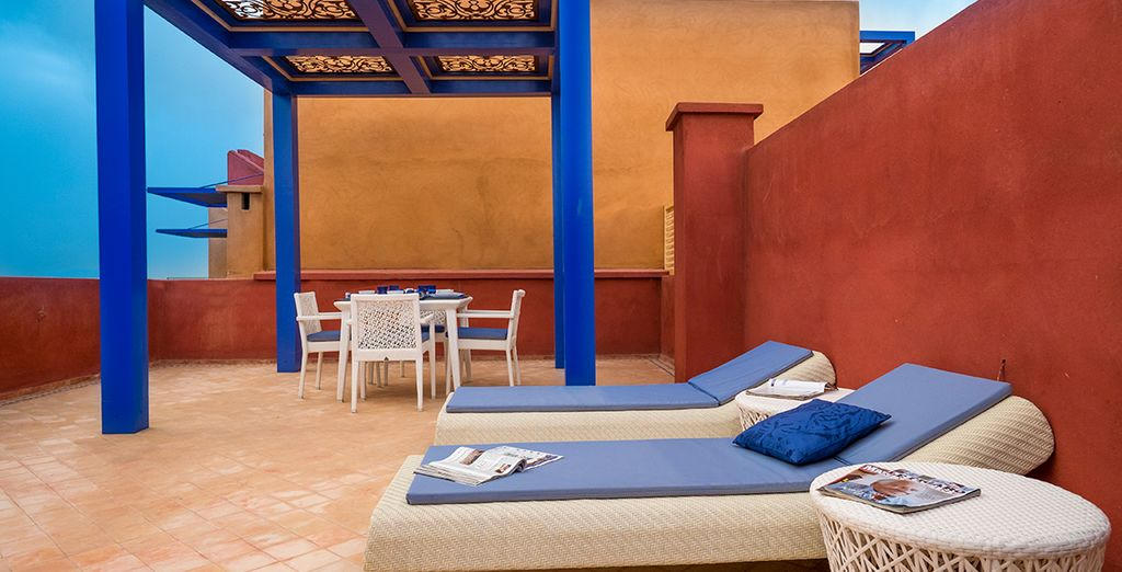 Sous le généreux soleil marocain
