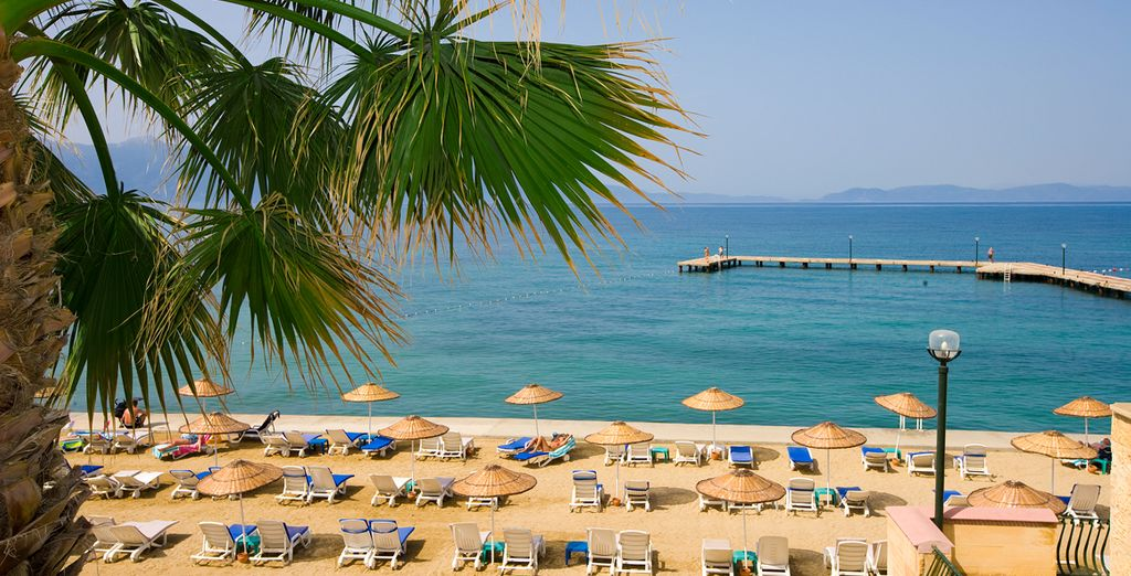Sur les bords de la mer Egée...