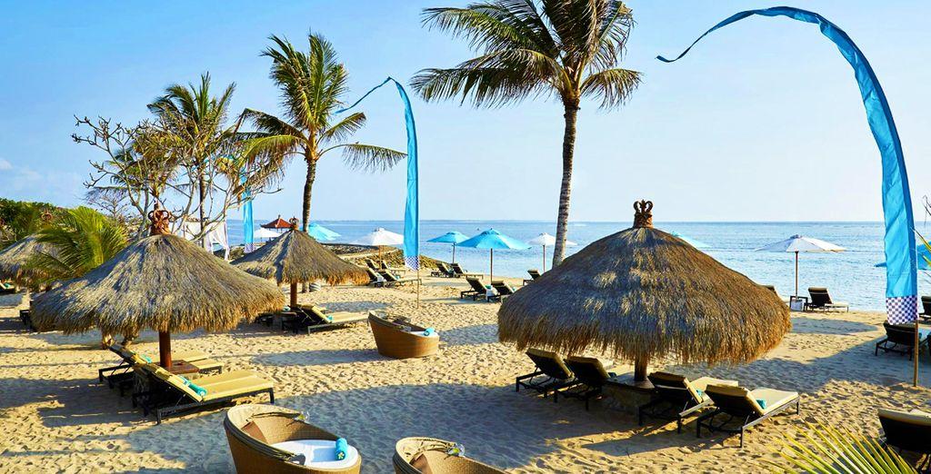 Dirigez-vous vers la plage pour une pause rafraîchissante