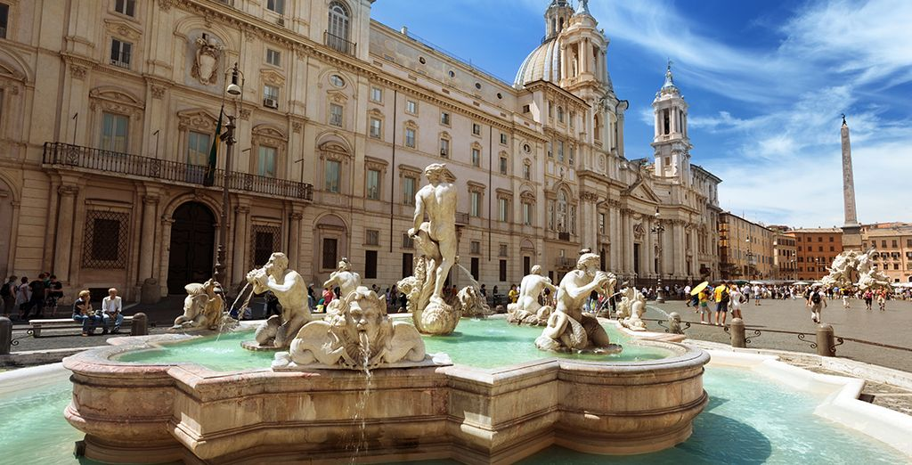 À votre gauche... la Piazza Navona